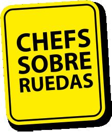 señal chef sobre ruedas
