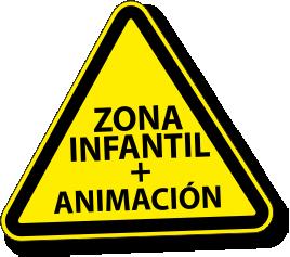 señal zona infantil